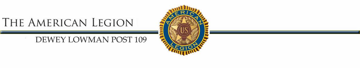 American Legion Dewey Lowman Post 109